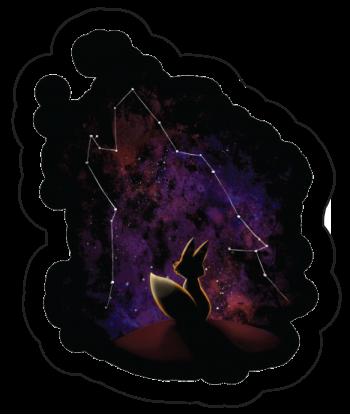 """Sticker """"Space Wolf"""""""