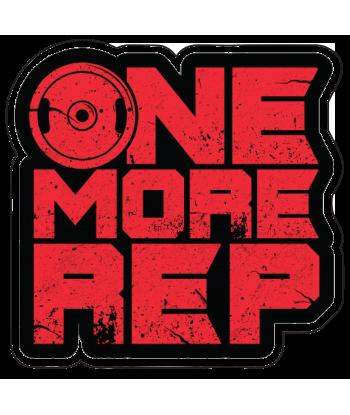 """Sticker """"One More Rep"""""""