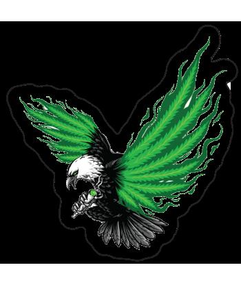 "Sticker ""Eagle is Green"""