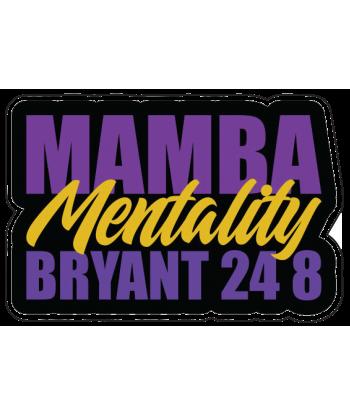 """Sticker """"Mamba Mentality"""""""