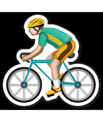 "Sticker ""Cycling"""