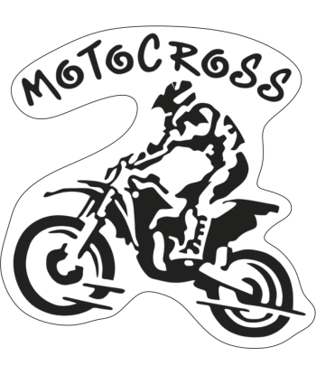 "Sticker ""Motocross"""