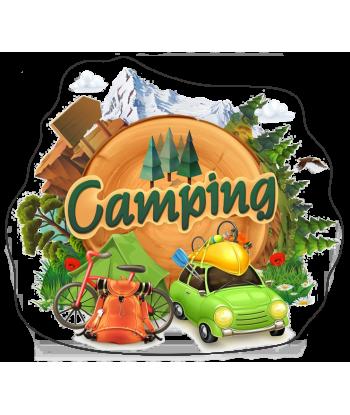 "Sticker ""Mountain Camping 1"""