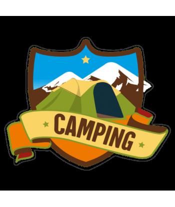 "Sticker ""Mountain Camping 2"""