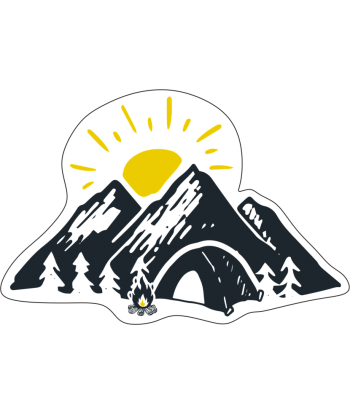 "Sticker ""Sunny Mountains"""