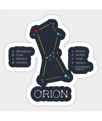 """Sticker """"Orion"""""""