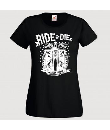 """Tricou pentru femei, """"Ride..."""